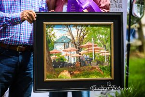 """2021 Best of Show """"Under the Umbrella"""" by John Whytock"""